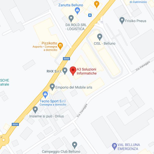 esempio di attività su Google Maps