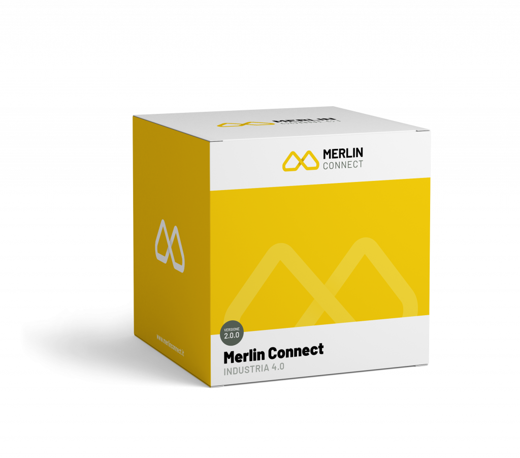 software industria 4.0 merlin connect